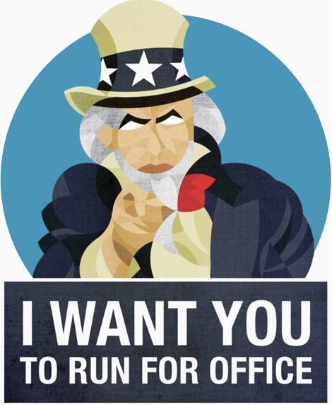 I want you to run for office